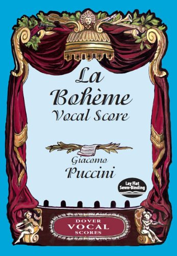 La Boheme Vocal Score: Puccini, Giacomo