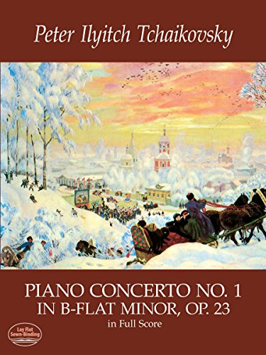 9780486413938: Piano Concerto No. 1 in B-Flat Minor, Op. 23, in Full Score (Dover Music Scores)