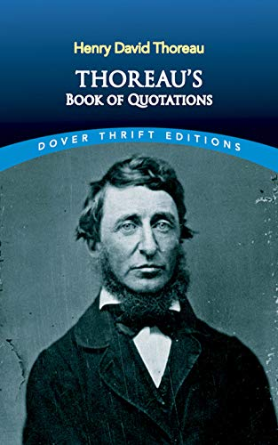 9780486414287: Thoreau's Book of Quotations (Dover Thrift Editions)