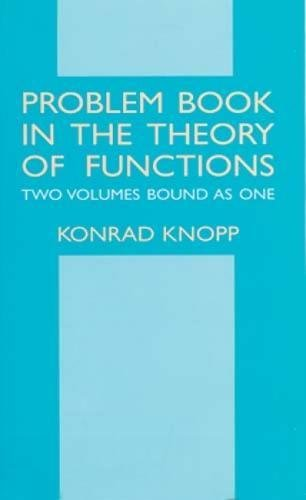 9780486414515: Problem Book in the Theory of Functions (Dover Books on Mathematics)