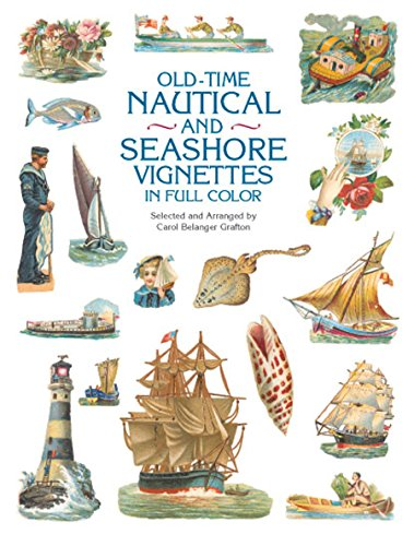 9780486415246: Old-Time Nautical and Seashore Vignettes in Full Color