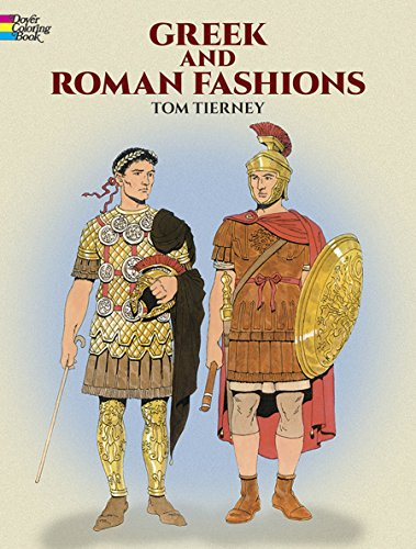 9780486415475: Greek and Roman Fashions (Dover Fashion Coloring Book)