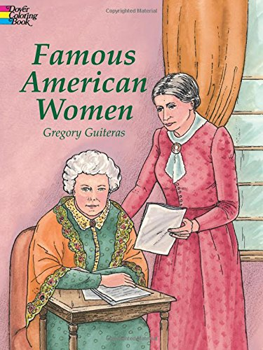 9780486415482: Famous American Women (Dover History Coloring Book)
