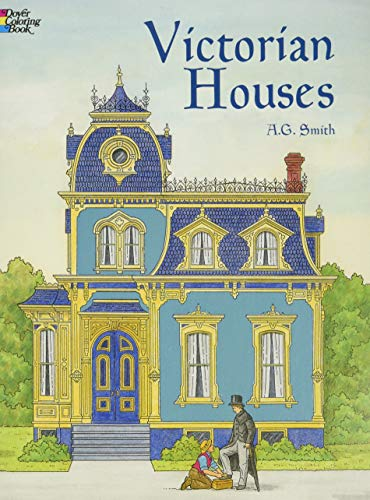 9780486415512: Victorian Houses (Dover History Coloring Book)
