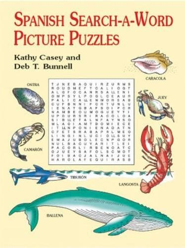 9780486415529: Spanish Search-a-Word Picture Puzzles (Dover Children's Language Activity Books)