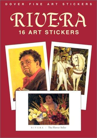 16 ART STICKERS.: Rivera, Diego.