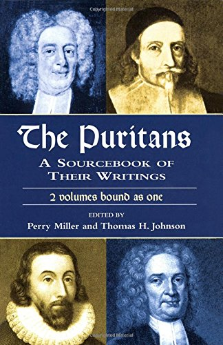 9780486416014: The Puritans: A Sourcebook of Their Writings