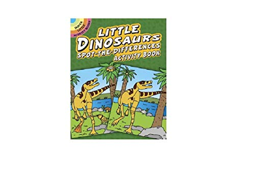 9780486416137: Little Dinosaurs Spot-the-Differences Activity Book (Dover Little Activity Books)