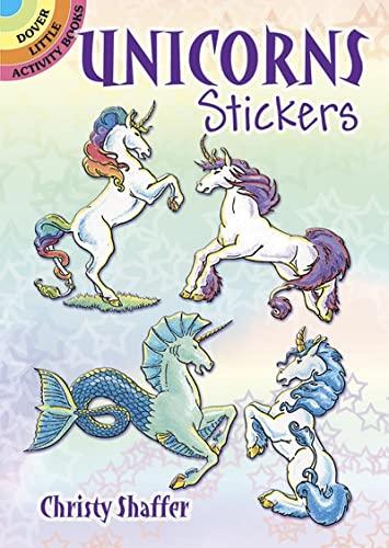 9780486416229: Unicorns Stickers