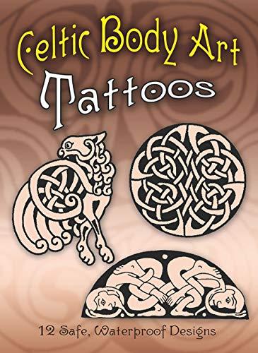 Celtic Body Art Tattoos (Paperback)