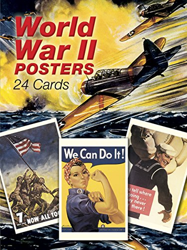9780486416755: World War II Posters: 24 Cards (Dover Postcards)