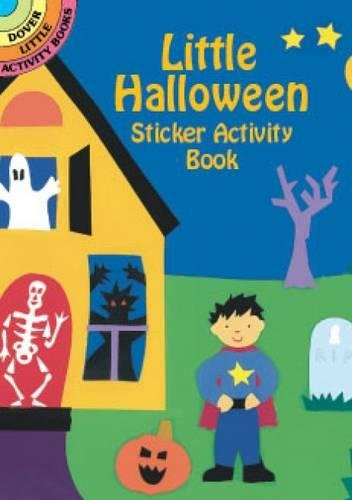 9780486416762: Little Halloween Sticker Activity Book (Dover Little Activity Books Stickers)