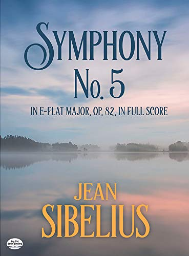 9780486416953: Symphony No. 5 in E-Flat Major, Op. 82, in Full Score (Dover Music Scores)