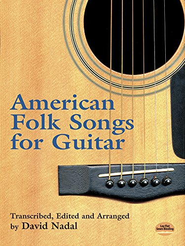 9780486417004: American Folk Songs for Guitar