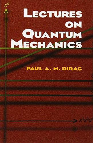 9780486417134: Lectures on Quantum Mechanics (Dover Books on Physics)