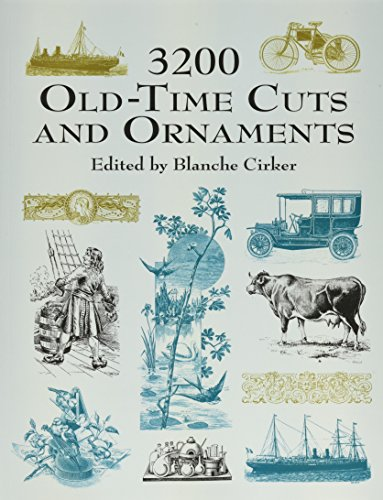 9780486417325: 3200 Old-time Cuts and Ornaments (Dover Pictorial Archive)
