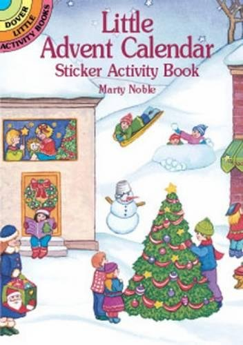 9780486417462: Advent Calendar Sticker Activity (Dover Little Activity Books Stickers)