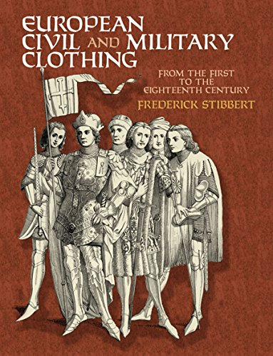 9780486417486: European Civil and Military Clothing (Dover Fashion and Costumes)
