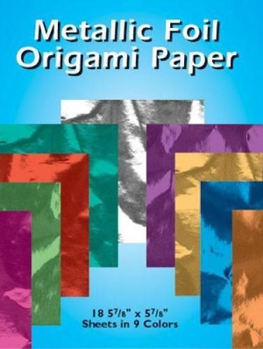 9780486417707: Metallic Foil Origami Paper