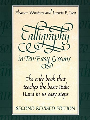 9780486418049: Calligraphy in Ten Easy Lessons (Lettering, Calligraphy, Typography)