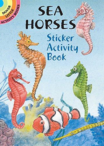 9780486418421: Sea Horses Sticker Activity Book (Dover Little Activity Books Stickers)