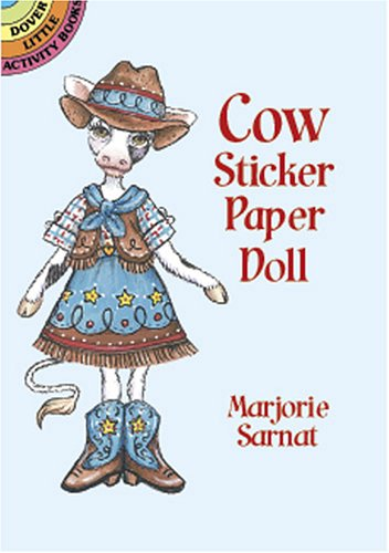 9780486418452: Cow Sticker Paper Doll