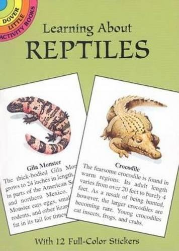 9780486418513: Learning about Reptiles (Dover Little