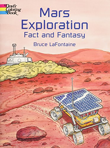9780486418643: Mars Exploration Fact and Fantasy (Dover History Coloring Book)