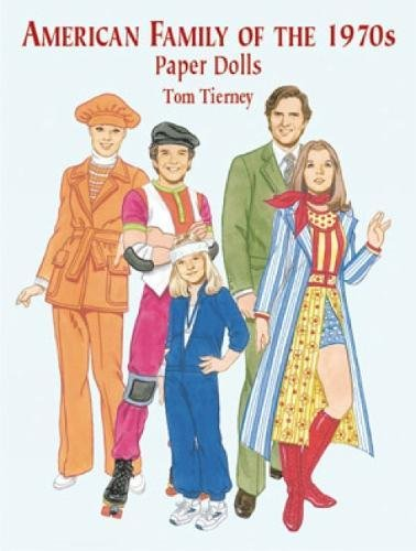 9780486418728: American Family of the 1970's Paper Dolls