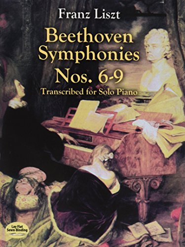 9780486418841: Beethoven Symphonies Nos. 6-9: Transcribed for Solo Piano