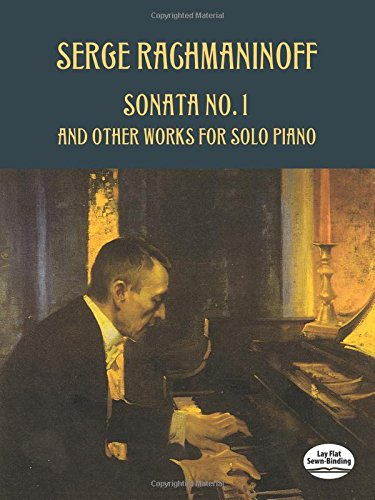 9780486418858: Sonata No. 1 and Other Works for Solo Piano (Dover Music for Piano)