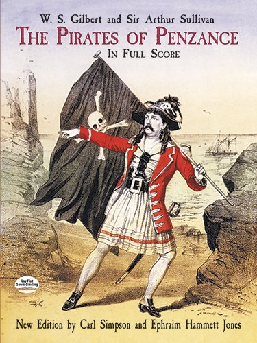 The pirates of Penzance.: Gilbert,W.S. Sullivan,Sir Arthur.