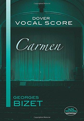 9780486418926: Carmen Vocal Score (Dover Vocal Scores)