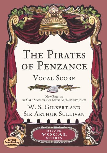 9780486418933: The Pirates of Penzance Vocal Score (Dover Vocal Scores)