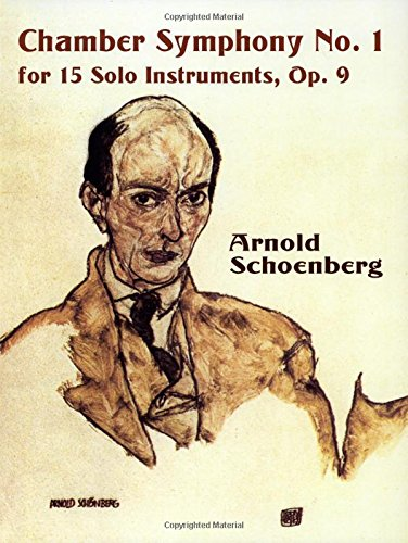 9780486419008: Chamber Symphony No. 1 for 15 Solo Instruments, Op. 9 (Dover Music Scores)