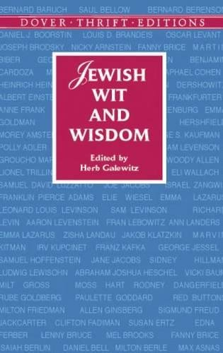 9780486419305: Jewish Wit and Wisdom (Dover Thrift Editions)