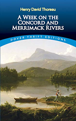 9780486419329: A Week on the Concord and Merrimack Rivers (Dover Thrift Editions)
