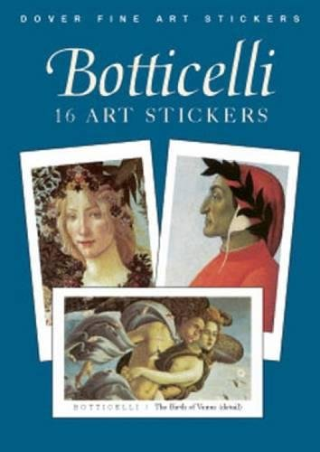 9780486419657: Botticelli 16 Art Stickers (Dover Art Stickers)