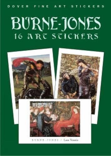 9780486419664: Burne-Jones: 16 Art Stickers (Dover Art Stickers)