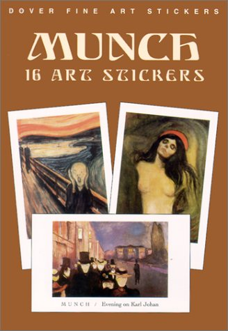9780486419671: Munch 16 Art Stickers