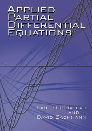 9780486419763: Applied Partial Differential Equati (Dover Books on Mathematics)