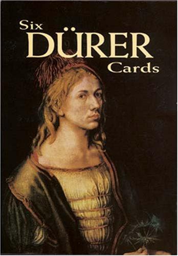 Six Dürer Cards (Dover Postcards): Albrecht Dürer