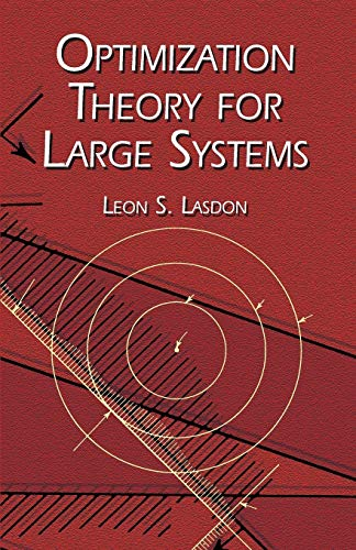 9780486419992: Optimization Theory for Large Systems (Dover Books on Mathematics)
