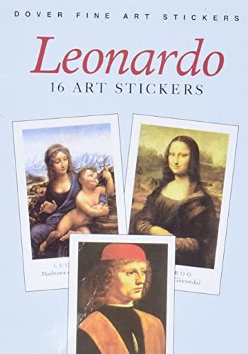 Leonardo: 16 Art Stickers (Dover Art Stickers): Leonardo da Vinci