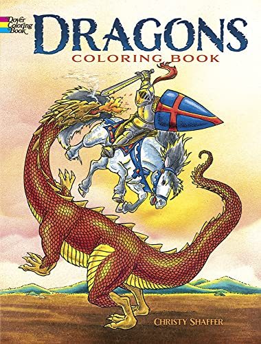 9780486420578: Dragons Coloring Book (Dover Coloring Books)