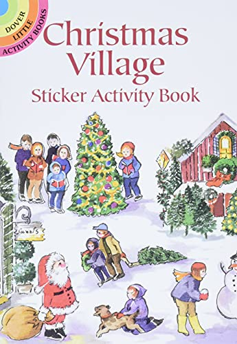 9780486420745: Christmas Village Sticker Activity Book (Dover Little Activity Books Stickers)