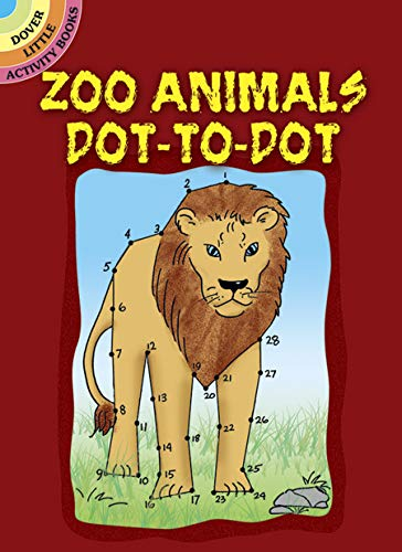 Zoo Animals Dot-To-Dot (Paperback)