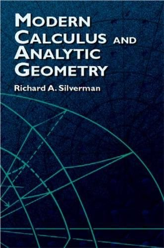 9780486421001: Modern Calculus and Analytic Geometry (Dover Books on Mathematics)