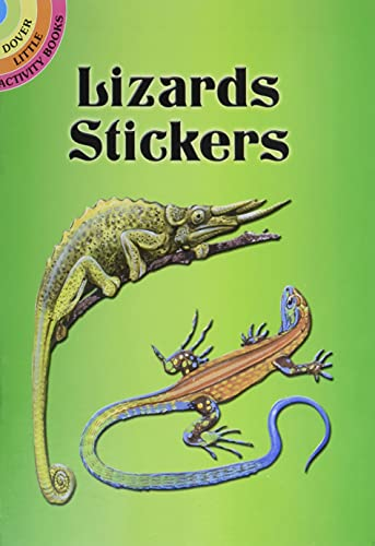 Lizards Stickers (Dover Little Activity Books Stickers): Jan Sovak