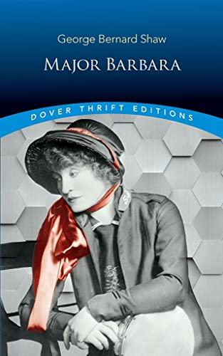 9780486421261: Major Barbara (Dover Thrift Editions)
